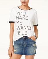 Roxy Juniors' You Make Me Wanna Surf Graphic T-Shirt