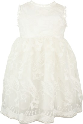 Popatu Lace & Star Applique Sleeveless Dress