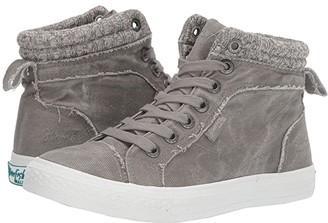 Blowfish Khloe (Wolf Grey Smoke 16 oz Canvas/Off-Grey Bobsled Knit) Women's Shoes