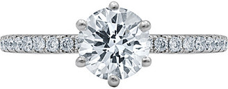 Diana M Fine Jewelry 18K 1.00 Ct. Tw. Diamond Ring Set