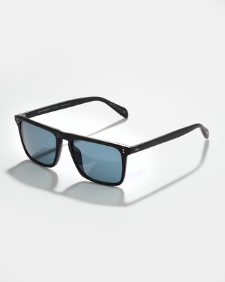 Oliver Peoples Bernardo Polarized Sunglasses, Indigo