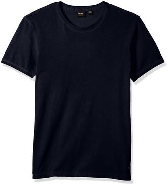 HUGO BOSS BOSS Orange Men's Troy Crew Neck Short Sleeve Solid T-Shirt
