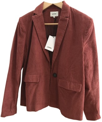 Polder Red Cotton Jacket for Women