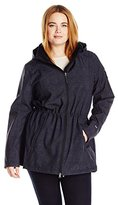 Free Country Women's Plus Size Softshell Anorak