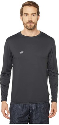 O'Neill Premium Skins Long Sleeve Sun Shirt (Raven) Men's Swimwear