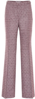 Gabriela Hearst Torres check wool-blend pants