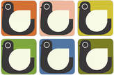 Orla Kiely Assorted Hen Coasters