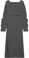 3.1 Phillip Lim Striped Cotton-jersey Midi Dress