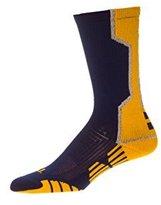 Custom Socks Ink CSI I-Formation Athletic Crew Socks USA made X-Large Dk Green/White