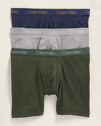 Calvin Klein 3-Pack Breathable Mesh Boxer Briefs
