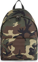 Givenchy Camo Printed Classic Canvas Backpack