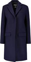 MSGM Wool-blend felt coat