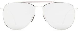 Thom Browne Eyewear Aviator Frame Sunglasses