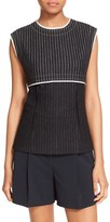 DKNY Women's Pinstripe Sleeveless Top