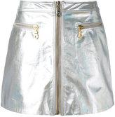 Kenzo - zip through mini skirt -