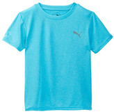 Puma Heather Logo Tee (Little Boys)