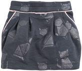 Little Marc Jacobs Burnout Cotton Mini Skirt
