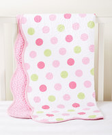 CoCalo Pink Dot Audrey Reversible Coverlet