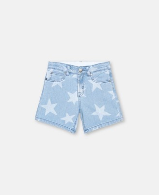 Stella McCartney stars denim shorts