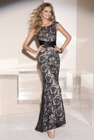 Alyce Paris - 29744 Long Dress In Black Nude
