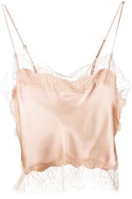 SABLYN Silk Cropped Camisole