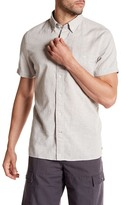 Timberland Mill River Chambray Short Sleeve Slim Fit Shirt