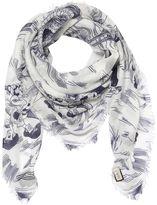 Gucci Sea Storm Printed Silk Modal Scarf