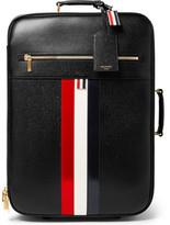 Thom Browne Pebble-grain Leather Suitcase - Black