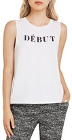BCBGeneration Graphic Muscle Tank