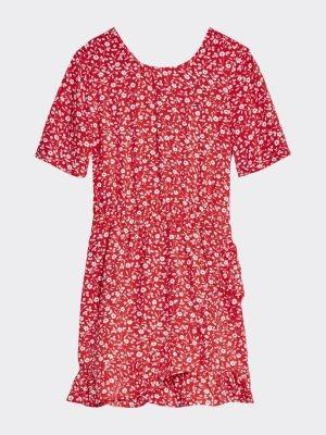 Tommy Hilfiger Floral Print Viscose Dress