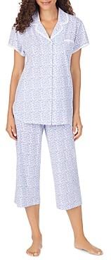 Eileen West Eyelet Lace Cotton Capri Pajama Set