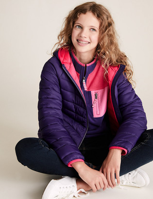 Marks and Spencer Stormwear Lightweight Padded Jacket (2-16 Yrs)