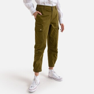 Converse Cotton Cargo Pants with Side Pockets