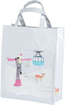 LADUREE Snowy Paris Shopping Bag - Large