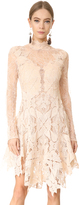 Jonathan Simkhai Multimedia Corded Lace Dress