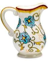 Euro Ceramica Duomo Floral-Printed Ceramic Pitcher
