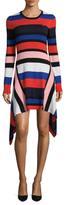 Love Moschino Striped Wool Dress