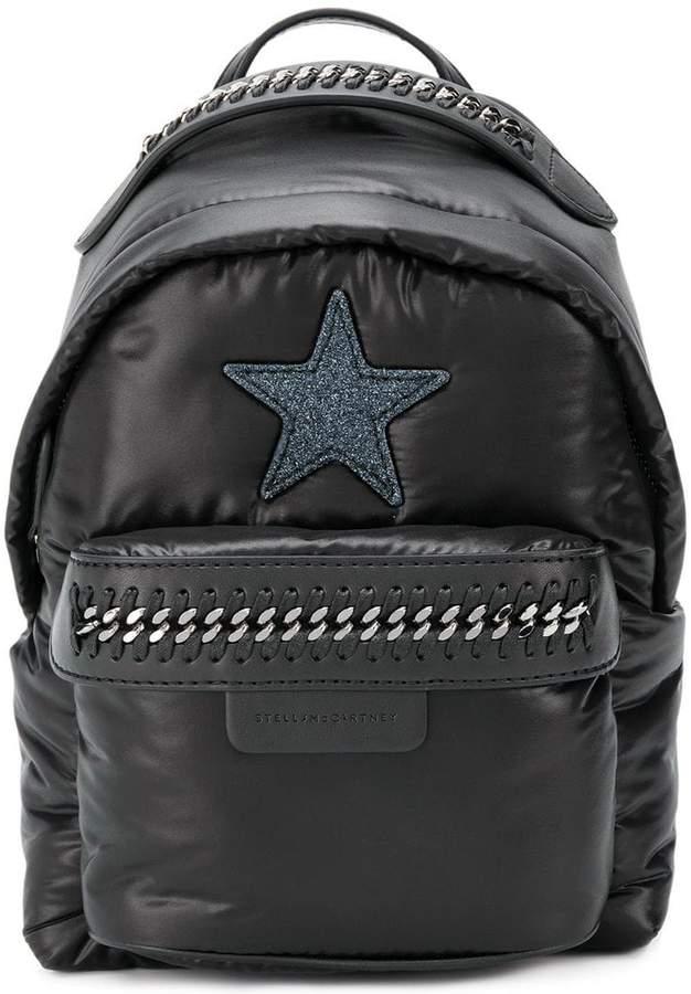Stella McCartney star patch mini backpack