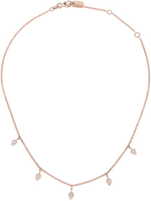 Carbon & Hyde Lily Choker in Rose Gold   FWRD