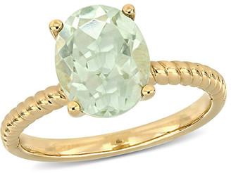 Rina Limor Fine Jewelry 14K 2.32 Ct. Tw. Green Amethyst Ring