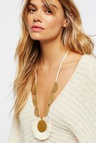 SANDY HYUN Rolling Rocks Tassel Pendant by at Free People