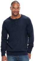 SONOMA Goods for Life Big & Tall SONOMA Goods for LifeTM Classic-Fit Coolmax Henley