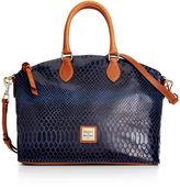 Dooney & Bourke Handbag, Embossed Snake Satchel