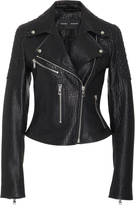 Proenza Schouler Textured-Leather Biker Jacket