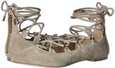 Pierre Balmain Lace-Up Ballet Flats
