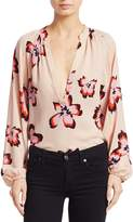 A.L.C. Jules Floral Long Sleeve Blouse