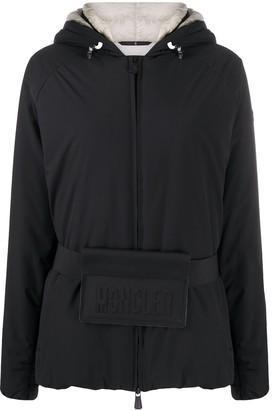 MONCLER GRENOBLE Logo Belt Padded Jacket