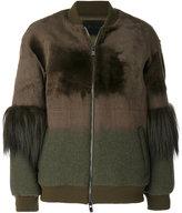 Drome zipped bomber jacket