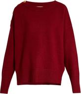 Vanessa Bruno Fidelio wool-blend button-embellished sweater