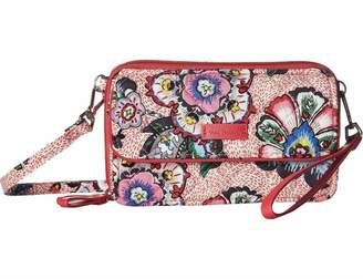 Vera Bradley Stitched Flowers All-In-One